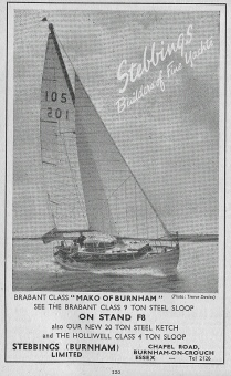 sixth boat show ad