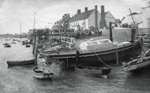 Steam boat Spitfire, built for S. Addisson.