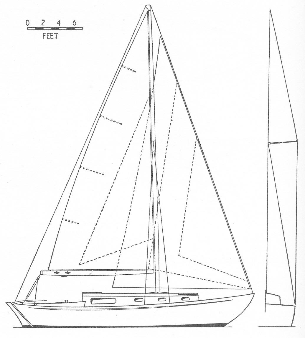brabant class stebbings archive Sailboat Boat brabant sail plan