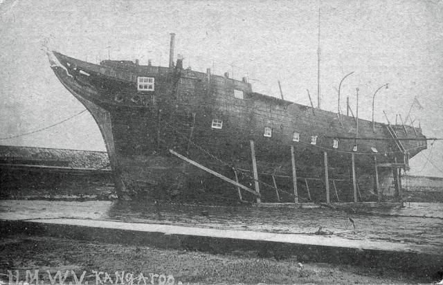 Her Majesty's Watch Vessel Kangeroo (formerly HMS Kangeroo)