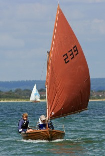 Golden Otter under sail