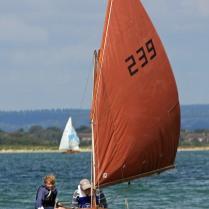 Golden Otter under sail