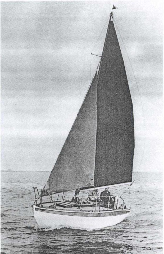 Souris, designed by Norman Dallimore and built by Stebbings.
