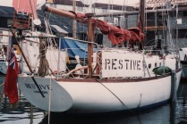 1988 Restive at Port-Falmouth Boat Yard, UK
