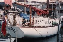 1988 Restive at Port-Falmouth Boat Yard, UK