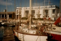 1993 Restive at Royal Cape Yacht Club, South Africa